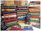old books - Lot of 10 ANTIQUE Old Vintage Books Collection Set UNSORTED MIXED all hardcover