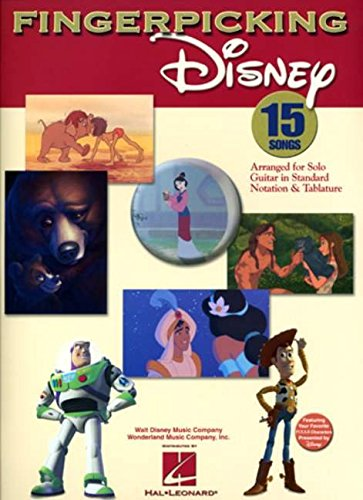 Fingerpicking Disney (Fingerpicking Guitar Tablature)