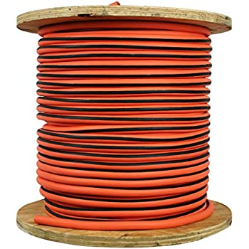 Direct Wire Amp Cable 2 0 Orange Ultra Flex Welding Cable