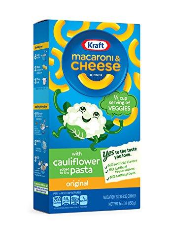 Kraft Macaroni & Cheese Cauliflower, Original, 5.5 Ounce (Pack of 12)