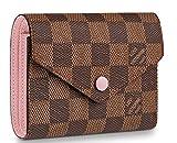 Best Designer Compact wallets 2019 Victorine Zippy coin purse High End original Leather Pocket Organizer Damier Brown N61700
