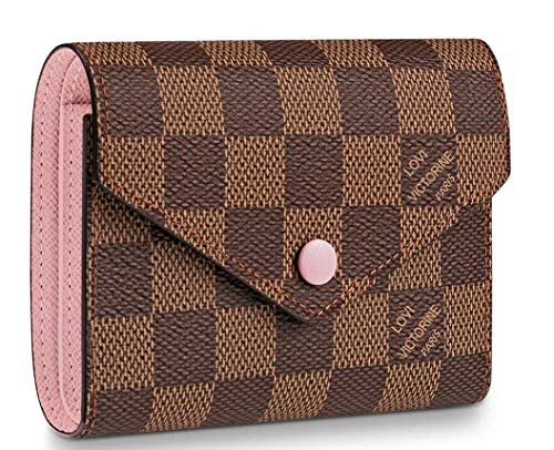 Practical Compact wallets 2019 Victorine Zippy coin purse real Leather Pocket Organizer Damier Brown N61700