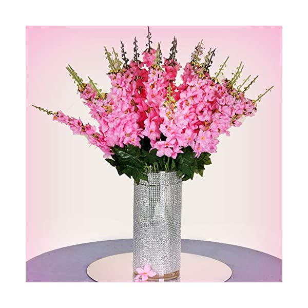 Inna-Wholesale-Art-Crafts-New-18-to-27-Pink-Delphinium-Stems-Filler-Silk-Decorating-Flowers-Bouquet-Centerpieces-Perfect-for-Any-Wedding-Special-Occasion-or-Home-Office-Dcor
