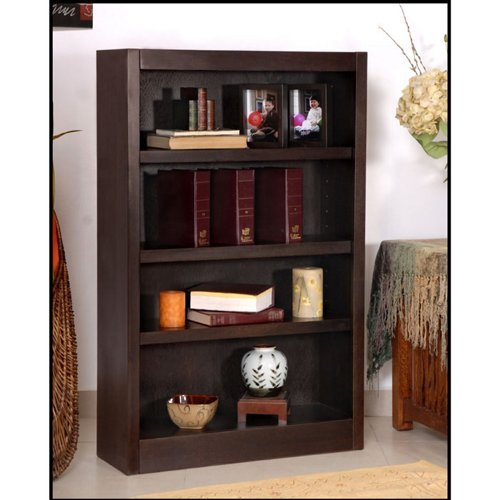 Midas Four Shelf Bookcase 48