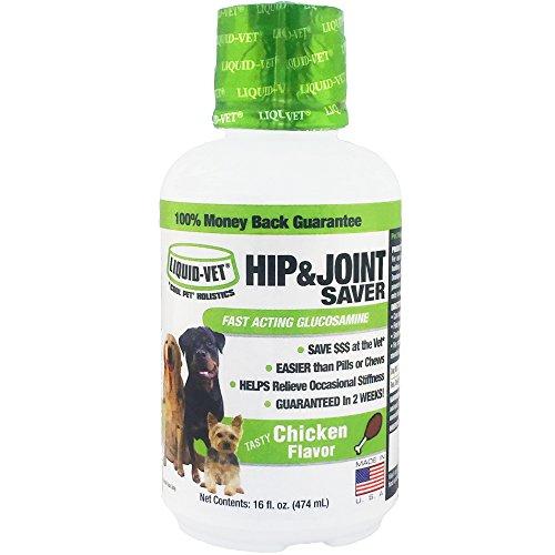 Liquid-Vet K9 Hip & Joint Saver Formula, Chicken Flavor, 16 oz