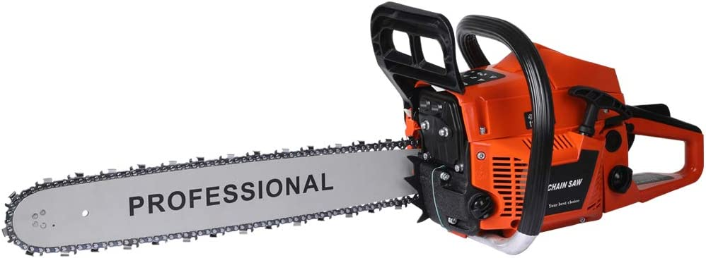 E-Start Tree Pruning Top Handle Wood Cutter Chainsaw