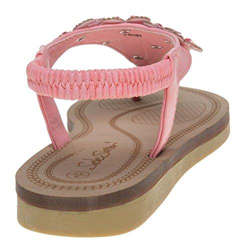 SOLESISTER Bette Damen Sandalen Pink Pink