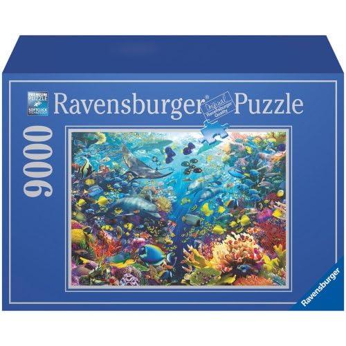 Ravensburger - 17807 - Puzzle - 9000P - Paradis Aquatique