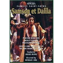 Saint-Saens - Samson et Dalila / Rudel, Domingo, Verrett, San Francisco Opera (1981)