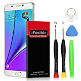 Note 5 Battery Upgraded iPosible 3200mAh Li-Polymer Battery Replacement Samsung Galaxy Note 5 SM-N920 N920V(Verizon) N920A(at&T) N920T(T-Mobile) N920P(Sprint) Removal Tools[24 Month Warranty]