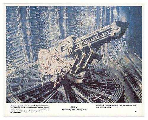 Poster Original Colour - Alien 1979 Authentic 8