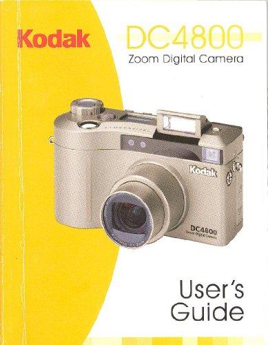 - Kodak DC4800 Zoom Digital Camera User's Guide/Instruction Manual