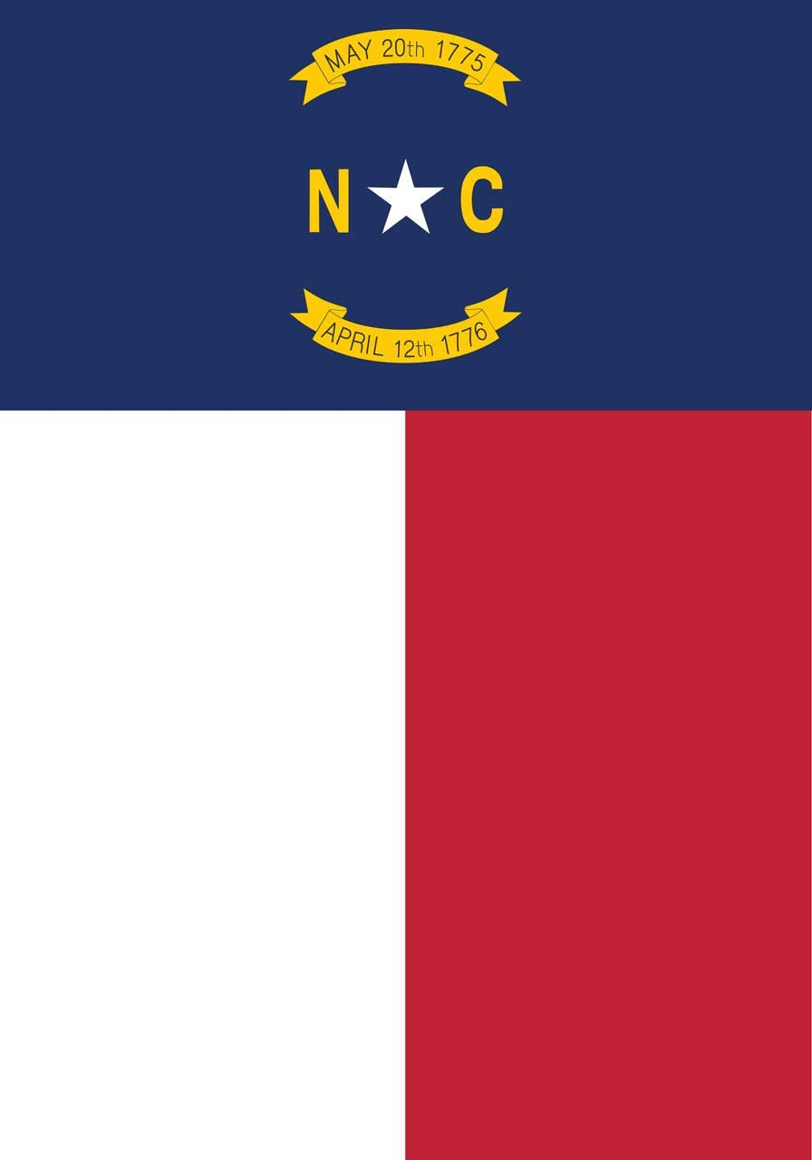 "Briarwood Lane State of North Carolina Garden Flag 12.5"" x 18"""
