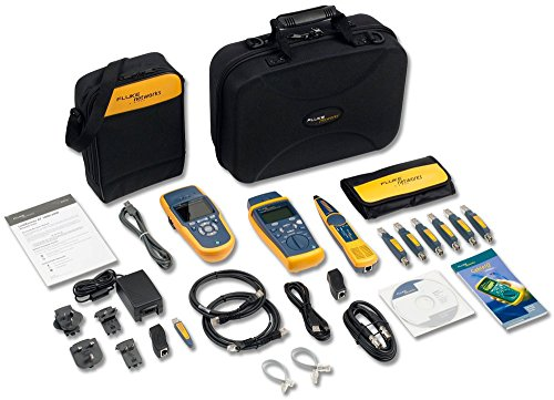Fluke Networks LRAT2-CIQ-GSV LinkRunner AT 2000/CableIQ Gigabit Service Kit ()