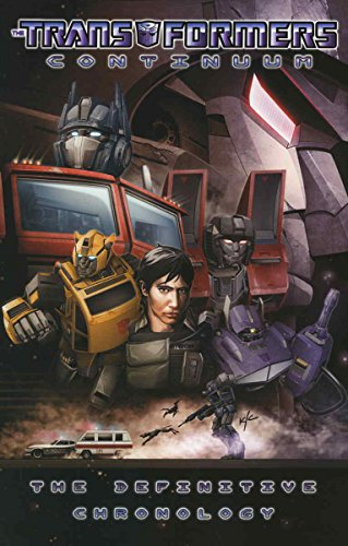 Transformers: Continuum #1 VF ; IDW comic - Holmes & Yang