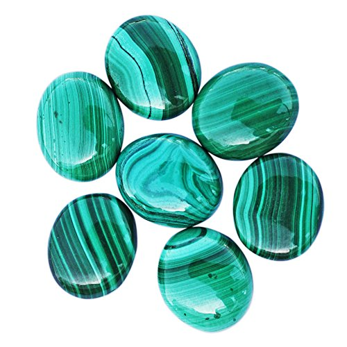 12X16 MM AAA Green Malachite Gemstone Oval Cabochon Natural Stone For Making Jewellery Hand Cut Stone