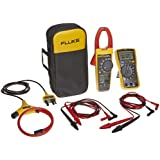 """""""Fluke VT04-ELEC-KIT Electrical Kit for Visual Infrared Thermometer, Includes IR Thermometer, Digital Multimeter, and True-RMS Clamp Meter."""""""