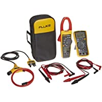 Fluke FLK-VT04-ELEC-KIT Electrical Kit for Visual Infrared Thermometer, Includes IR Thermometer, Digital Multimeter, and True-RMS Clamp Meter