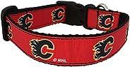 NHL Unisex NHL Calgary Flames Dog Collar