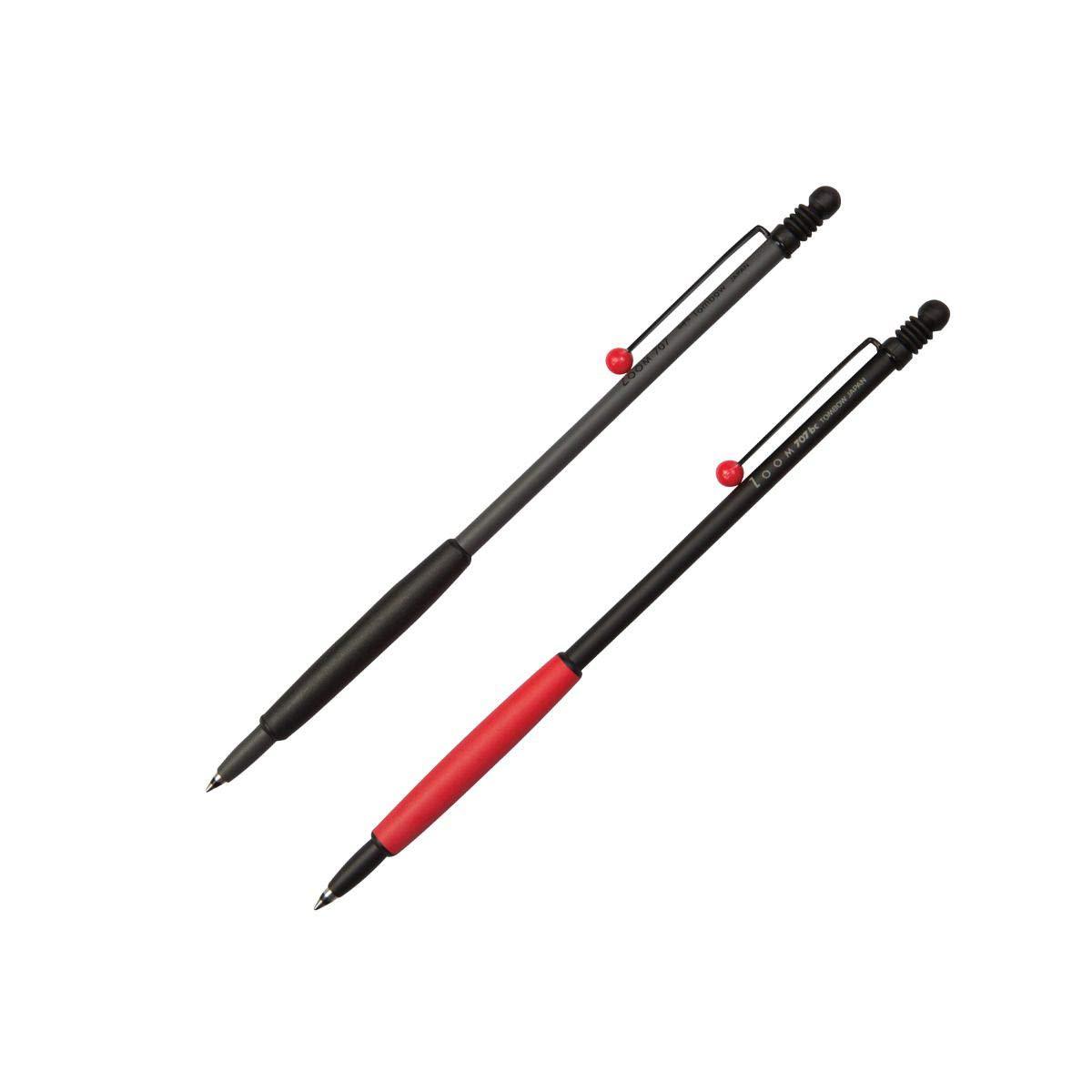 Tombow Ballpoint Pen Zoom707 Gray//Black