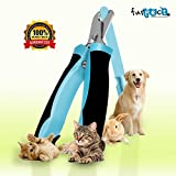 PREMIUM Pet Nail Clippers For Cats and Dogs by Furpect ™ Best Dog Toenail Trimmer - Free Nail File For Professional Trimming and Filing for Your Dog or Cat * Includes Clear Instructions and FREE eBook