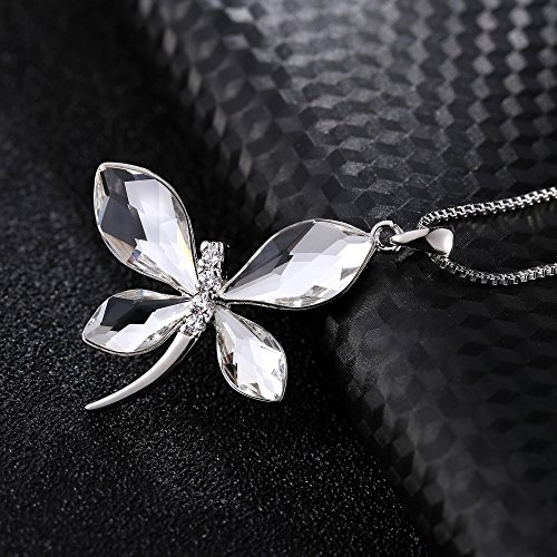 T400 jewelers clear butterfly pendant necklace made with for L love jewelry reviews