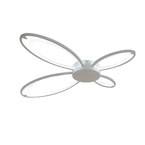 Plafón LED Modern Plafones Forma de mariposa diseño Lámpara ...