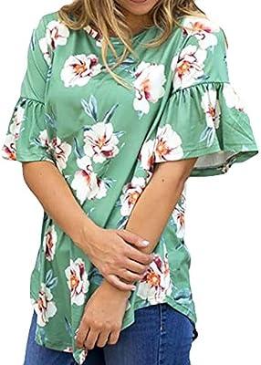 Camisetas De Rugby Mujer Ronamick Comfort Blusa Transparente Mujer Negra Tops Negros Mujer Fiesta Comfort Camisa Fiesta Mujer Noche (Verde,M): Amazon.es: Iluminación