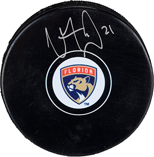 Vincent Trocheck Florida Panthers Autographed Hockey Puck - Fanatics Authentic Certified - Autographed NHL -