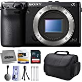 Sony NEX-7 NEX7 NEX7/B Compact 24.3 MP Mirrorless Interchangeable Lens Camera - (Body Only) with Premium Accessories Bundle Kit includes 64GB Class 10 SDHC Memory Card + Hard Shell Carrying Case + Camera Lens Cleaning Kit + Bonus $50 Gift Card for Digital Prints