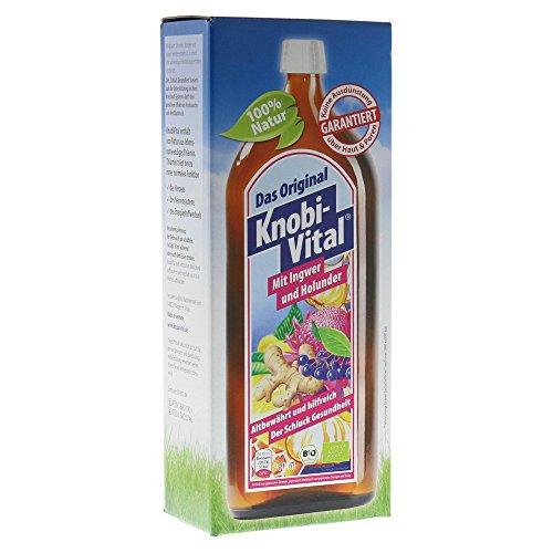 KnobiVital mit Ingwer und Holunder, 960 ml