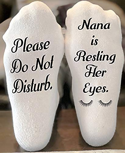 Funny Nana Gift Ideas - Nana Slipper Socks