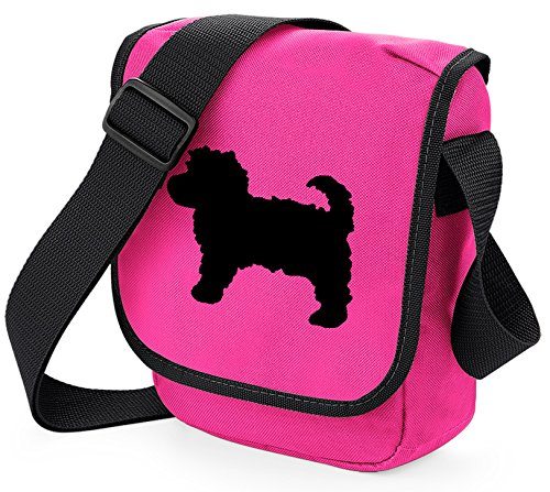 of Bag Bag Colours Dog Choice Reporter Cavapoo Cavapoo Black Gift Shoulder Silhouette Bag Pink Bag Cavapoo q4wITv4
