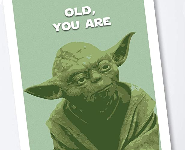 Amazon Com Star Wars Yoda Birthday Card Handmade