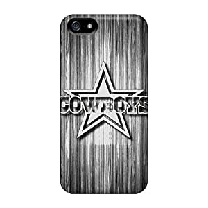 New Tpu Hard Case Premium Iphone 5/5s Skin Case Cover(dallas Cowboys 3)