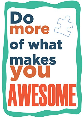 Do More Of What Makes You Awesome With Autism Puzzle Piece Icon Typography Print