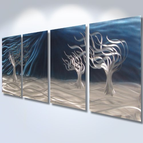 Metal Wall Art, Modern Home Decor, Abstract Sculpture Contemporary-
