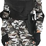 Children SWAT Costume Military Uniform Police Set