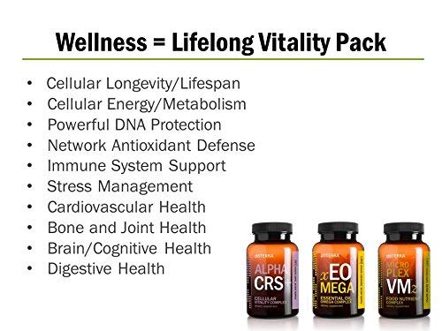 doTERRA Lifelong Vitality Pack— Alpha CRS+, xEO Mega and Microplex VMz by doTERRA (Image #2)