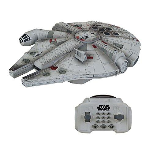 MTW Toys 3108300 - Star Wars Episode VII - RC U Command Millenium Falcon, mit Fernsteuerung, ca. 30 cm