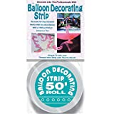 Mayflower Products 50' Balloon Deco Strip-Clear