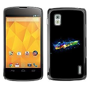 TECHCASE**Cubierta de la caja de protección la piel dura para el ** LG Google Nexus 4 E960 ** Exchange
