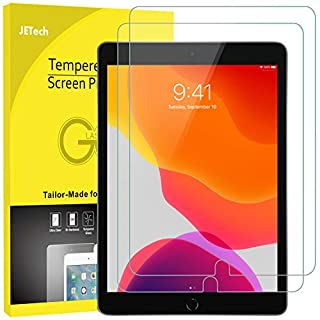 JETech Screen Protector for iPad 7 (10.2-Inch, 2019 Model, 7th Generation), iPad Air 3 (10.5-Inch, 2019) and iPad Pro 10.5 (2017), Tempered Glass Film, 2-Pack