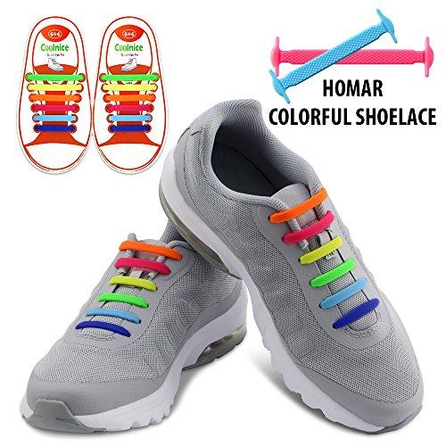 homar-kids-elastic-athletic-flat-no-tie-shoelaces-best-in-sports-outdoors-fan-shop-footwear-shoelace
