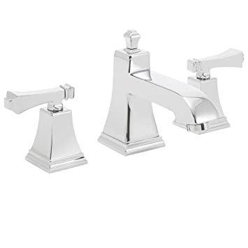 Speakman SB 1321 Rainier Two Handle 8 Inch Widespread Bathroom Faucet Polished Chrome