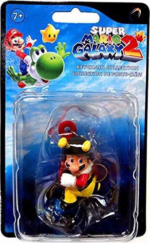 Bee Mario Super Mario Galaxy 2 Keychain Figure