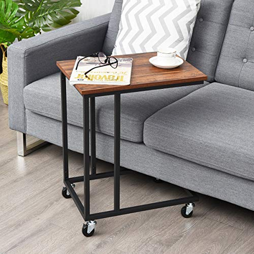 Laptop Holder Sofa Side End MobileTable Multiple Stand Desk Notebook Beside Wood