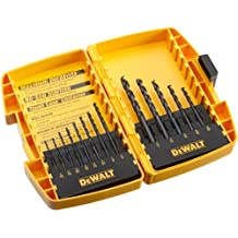 DEWALT DW1163 Black Oxide Split Point Twist Drill Bit Assortment, 13-Piece