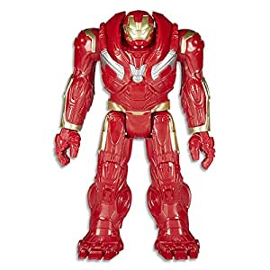 "MARVEL AVENGERS - 12"" Hulk Buster Power FX Figurine -Titan Hero Series Action Figures - Kids Toys - Ages 4+"