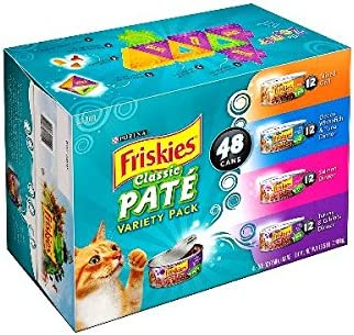 1 Friskies Original Loaf Variety Pack Canned Cat Food 48 5.5-Oz Cans